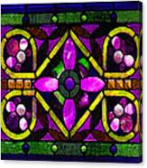 Stained Glass 3 Canvas Print