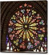 Stained Glass Details Canvas Print