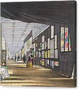 Stained Glass Gallery, From Dickinsons Canvas Print