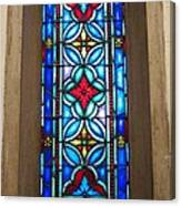 Stained Glass In Redeemer Lutheran Canvas Print
