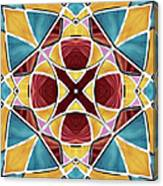 Stained Glass Window 5 Canvas Print