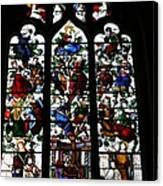 Stained Glass Window I Canvas Print