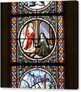 Stained Glass Window Iv Canvas Print
