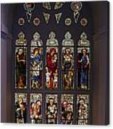 Stained Glass Window The Huntington Library Canvas Print