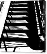 Stair Shadow Canvas Print