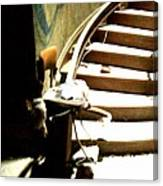 Staircase Going Up Canvas Print
