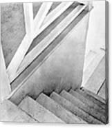 Staircase, Mexico City, C.1924 Canvas Print