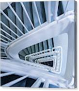 Staircase, Reykjavik Library Canvas Print