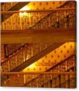 Stairs At The Brown Palace Canvas Print
