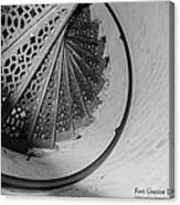 Stairs At The Fort Gratiot Light House Canvas Print