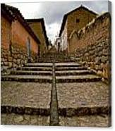 Stairs In Chinchero Peru Canvas Print