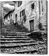 Stairs To Lavertezzo Canvas Print