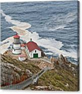 Stairway Leading To Point Reyes Lighthouse Canvas Print