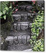 Stairway Path To Gardens Canvas Print