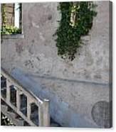 Stairway To Alcatraz Canvas Print