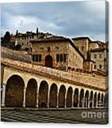 Stairway To Assissi Canvas Print