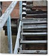 Stairway To Humdrum Canvas Print