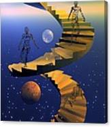 Stairway To Imagination Canvas Print