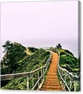Stairway To Stinson Canvas Print