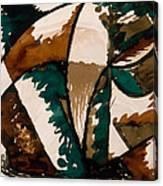 Stalking Bear Canvas Print