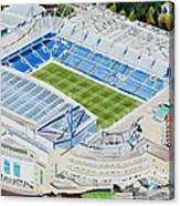 Stamford Bridge Stadia Art - Chelsea Fc Canvas Print