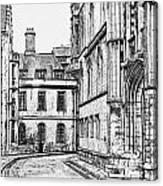 Stamford Uk 4 Canvas Print
