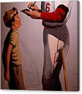 Stan Musial Mural Canvas Print