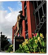 Stan Musial Statue Canvas Print