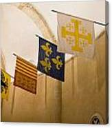 Standards Of The Knights Of The Templar Canvas Print