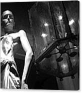 Standing Guard On Rodeo Drive Canvas Print
