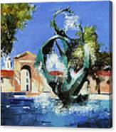 Stanford Claw Canvas Print