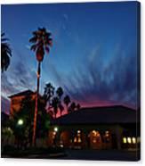 Stanford University Quad Sunset Canvas Print