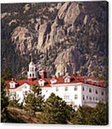 Stanley Hotel Estes Park Canvas Print