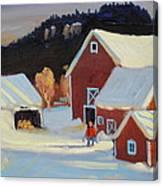 Stanley Kay Farm Canvas Print