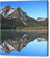 Stanley Lake Sawtooth Mountains Canvas Print