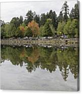 Stanley Park In Vancouver Bc Canada Canvas Print
