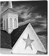 Star Barn Star Canvas Print