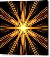 Star Burst Canvas Print