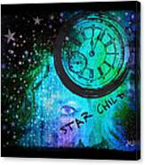 Star Child - Time To Go Home Canvas Print