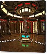 Star Drive Accelerator Canvas Print