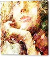 Star Eyes Canvas Print
