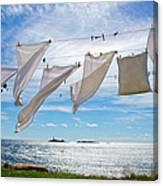 Star Island Clothesline Canvas Print