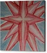 Star Of Hope Canvas Print