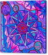 Star Of Joy Canvas Print
