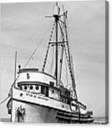 Star Of Monterey In Monterey Harbor Circa 1948 Canvas Print