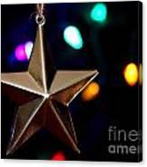 Star Ornament Canvas Print