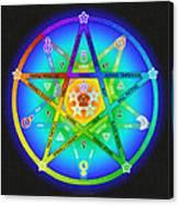 Star Sense Creation Canvas Print