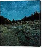 Star Showers Canvas Print