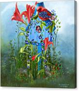 Star Spangled Birdie Canvas Print