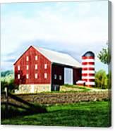 Star Spangled Farm Canvas Print